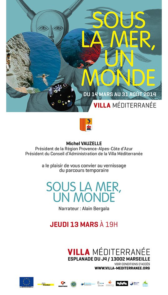 Invitation au vernissage du 13 mars 2014