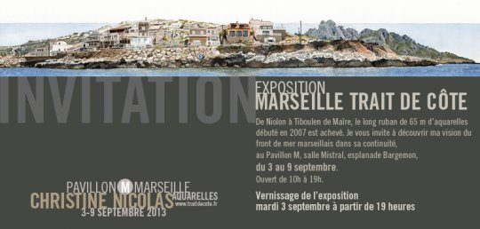 Invitation exposition Pavillon M